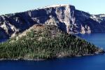 Wizard Island, Crater Lake National Park, water, NNOV01P07_08