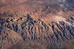 Temblor Range, mountains, summertime, Fractal Patterns