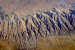 Temblor Range, mountains, summertime, Fractal Patterns, Hills