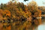 fall colors, autumn, Sacramento River, water, trees, reflection, NPND05_057