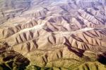 Fractal Patterns, Hills, Mountains, Central California, NPNV14P11_01