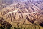 Fractal Patterns, Hills, Mountains, Central California