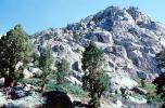Granite, Rocks, Mountain, trees