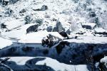 Snow Covered Rock, River, Winter, NPYV02P06_10