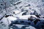 Snow Covered Rock, River, Winter, NPYV02P06_12
