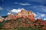 Mountain, Strata, Layers, Sedimentary Rock, Butte, Sedona, Oak Creek Canyon