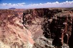 Puffy Clouds, Barren Landscape, Little Colorado River Canyon Wall, Cameron, NSAV01P02_12