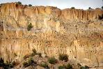 sheer cliff, Bandelier National Monument