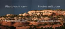 Wall of Sedimentary Rock, Mountain, Layers, Sandstone, NSUD01_145