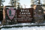 Bryce Canyon National Park Sign, NSUV05P08_13