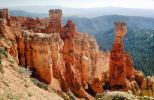 the sandstone as the stone stands, columns, strata, forest, Hoodoo, outcropping, Spire, Sandstone, NSUV07P15_11