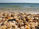 Beach, Rocks, Pebbles, Orient Point, Long Island, New York, Wet, Liquid, Water, NWED01_153