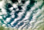 Altocumulus Clouds, daytime, daylight, orderly, in line, in-line, marching, organized, NWSV15P12_05.0144