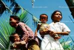 baby, infant, babies, girl, boy, mother, Ubud, Bali, PBTV02P01_07