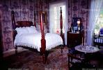 Bed, Post, Rug, Carpet, Lamp, Wallpaper, PDBV01P05_13