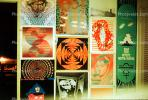Posters, Boys bedroom, 1960's, San Diego, California, Loma Portal, My Room, psyscape