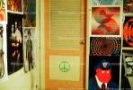 Boys bedroom, 1960's, San Diego, California, Loma Portal, My Room, Posters, psyscape, PDBV01P07_16