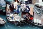 Boat City, Housing, Harbor, Boat, Laundry, Home, House, Washingline, Hong Kong, PDLV01P01_02