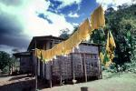 Drying Line, Hut, House, Home, Clothes Line, Drying, Washingline, PDLV01P05_18