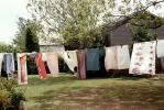 drying, sheets, towels, Drying Line, Clothes Line, Backyard, Washingline, PDLV01P09_12