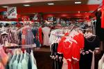 Shopping Mall, womens clothing store, racks, interior, inside, indoors