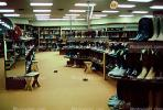 boots, shoe store, interior, inside, indoors