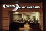 Carnes Piano & Organs, Shopping Mall, interior, inside, indoors, 1980s, PDSV04P05_05