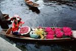 Flower Boat, woman, floral, PDVV01P05_10