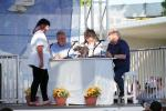 Judges, Judging Table, World's Ugliest Dog Contest, Sonoma-Marin Fair, 21/06/2019, PFFD02_076