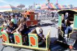 Strange Train, Kiddie Ride, Rideable Miniature Train, Marin County Fair, PFFV04P10_19
