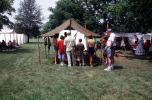 Civil War re-enactment, tents