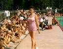 Swimsuit Pageant, Showing off to the crowds, Sunny, Sun Worshippers, Poolside, 1950s, PFMV01P01_11
