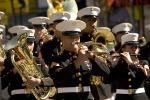 USMC, Marching Band, Brass Instruments, Suits, Hats, Uniforms, Music, PFPD01_187