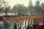 Marching Band, Macy's Thanksgiving Day Parade, Manhattan, autumn, PFPV01P14_11
