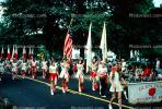 Color Guard, Marching, Glenrock, 1950s, PFPV02P03_03