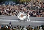 Big Base Drum, Northwestern University Band, Rose Parade, 1950, 1950s, PFPV03P09_01