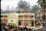 Edison, Showboat, Rose Parade, 1950, 1950s