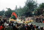 bumble bees, Rose Parade, 1950, 1950s
