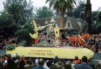 Baby and Stork, Moon, Horse drawn Carriage, The Country Doctor, Huntington Park, Horse and Buggy, Rose Parade, 1950, 1950s