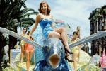 Woman and Flying Fish, Miss Universe Parade, 1955, 1950's