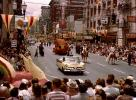 Portland Parade of Roses, Dodge Car, crowds, 1950s