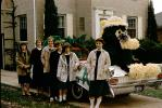 1959 Pontiac Catalina Convertible, College Sorority Sisters, York Parade, October 1959, 1950s