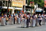 Sanitation Engineers, trash cans, Martin Luther King Parade, Third Street, MLK, PFPV04P11_06