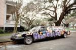 Stretch Limousine, Mardi Gras, Carnival, French Quarter, Car, automobile