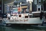 Pleasant Plains Fire Boat, Miss P-P, Fireman's Parade, 1950s, PFPV05P11_18
