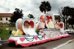 Hearts, Strawberry Festival, Lakeland Parade, 1950s, PFPV05P13_10