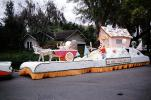 Donkey and Cart, Candy Cane House, Junior Thrift Club, Lakeland Parade, 1959, 1950s, PFPV05P14_14
