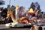 The Green Eyed Dragon, Woman in a Kimono, Helms Bakery, Bakeries, Rose Parade, 1961, 1960s, PFPV05P15_15