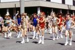 Little Majorettes, Marching, Baton Twirling, Parade, 1982, 1980s, PFPV06P05_14B