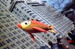 Floating Fish, Helium Balloon, Macy's Thanksgiving Day Parade, autumn, 1951, 1950s